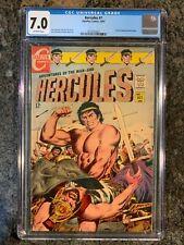 Hercules #1 (Charlton, 1967) CGC 7.0 Thane of Bagarth Stories Begin