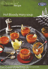 Recipe Card: Hot Bloody Mary Soup (Waitrose)