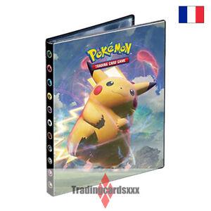 Pokémon - Portfolio 4 Pochettes A5 / 80 cartes: EB04 Voltage Éclatant