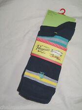 BNWT -  ORIGINAL PENGUIN Mens Striped Socks  - Navy Blue    3 Pairs