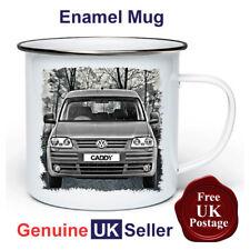 VW Caddy Mug,11oz Enamel VW Caddy Camping Mug, Enamel Cup