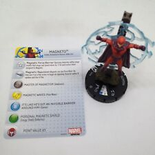 Heroclix Wolverine and the X-Men set Magneto #037a Rare figure w/card!