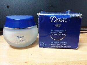 Dove Fresh Radiance Anti-Aging Night Cream Normal/Dry Skin 1.69 Oz
