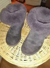 UGG Womans Purple Booties