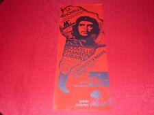 COLL.J. LE BOURHIS AFFICHES CHANSON CUBA / RODRIGUEZ MILANES LA ROCHELLE 75 che