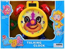 Childrens Educational Electronic Tell The Time Learning Talking Toy Clock LTC75E