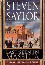 Last Seen in Massilia:  A Novel of Ancient Rome-ExLibrary