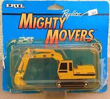 ERTL John Deere Excavator Mighty Movers 1041 vintage 1/64 construction 1989 box