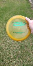 Rare Pfn Patent #s Yellow Champion Orc 167g Innova Disc Golf Oop 7/10