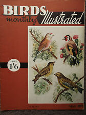 BIRDS MONTHLY ILLUSTRATED, VOL III, NO 1, MAY 1957