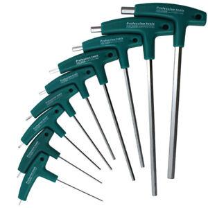 Poignée en T hexagonale clé Allen Tournevis outil jeux de clés 1.5mm-10mm