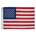 New Taylor Made 8418 Premium Sewn Embroidered 50 Star United States Flag 12 x 18