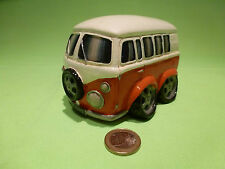 CASABLANCA  VW VOLKSWAGEN  T1 BUS - PIGGY BANK WITH KEY - VERY GOOD CONDITION