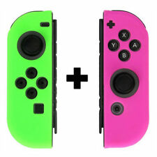 Nintendo Switch Joy-Con Anti-Slip Silicone Rubber Skin Gurad Case Cover