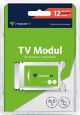 freenet TV CI+ TV Modul DVB-T2 HD und DVB-S Sat mit 12 Monate gratis Guthaben