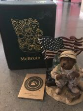 "Boyds #2277923 ""McBruinTo Serve with Honor"" NEW IN BOX Hand Numbered edition"