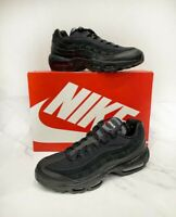 Air Max 95 Essential Triple Black UK 9 ✅ NEW ✅ FREE Next Day Delivery ✅