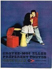 PUBLICITE ADVERTISING  1960    GROSFILLEX   plastiques
