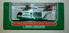 2011 Hess Miniature Helicopter New in Box!