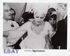 Busty Babe Night Games VINTAGE Photo Directed by Mae Zetterling