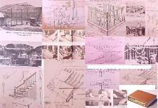 CARPENTRY BUILDING Cn:MASONRY BRICK STONE CHIMNEY FIREPLACE FRAMING ROOF TIMBER+