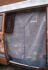 German Quality T25 Side Sliding Door Mosquito Net Middle Zip Grey C9079G