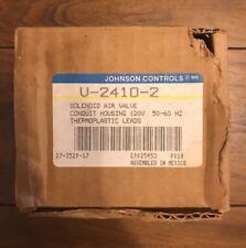 "NEW IN BOX 1/8"" JOHNSON CONTROLS V-2410-2 SOLENOID VALVE 120/60"