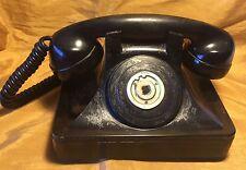 1940s NORTH ELECTRIC St. Line Ringer Black Art Deco Extension / Party Line Phone