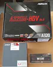 Aufrüstkit AMD Ryzen 3 2200G AM4, ASRock MB A320M-HDV u. 8 GB DDR4 G.Skill Aegis