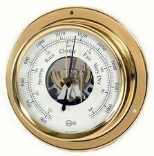 SHIP Barometer BARIGO Tempo with open Scale Brass 110mm