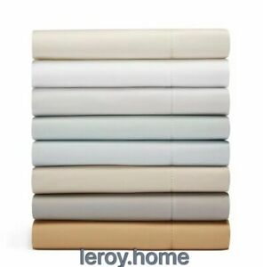 Hudson Park 600TC 100% Cotton Solid Twin XL Fitted Sheet $120 Bronze  BRAND NEW