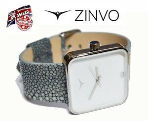 ZINVO Unisex Ladies Women`s Premium Swiss Watch in Gift Box Multi Leather Strap