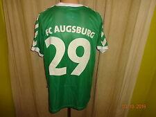 """FC Augsburg hummel Auswärts Matchworn Trikot 2005/06 """"HUMBAUR"""" + Nr.29 Gr.L"""