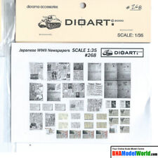 DioArt 1/35 WWII Japanese Newspapers (full colour, 2 bond sheets)