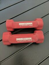 Prospirit Dumbbells Hand Weights 3 lbs Each (Set Of 3 Pounds = 6 lbs Total)