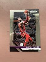 2018-19 Panini Prizm Basketball: LeBron James La Lakers Card