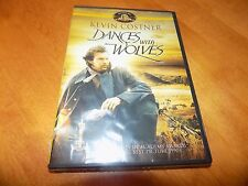 DANCES WITH WOLVES Kevin Costner Western Academy Award Drama Classic DVD NEW