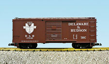 USA Trains G Scale R19107 Delaware & Hudson Box Car CHOICE #'s NEW RELEASE