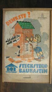 DDR Spielzeug-BOB Baukasten Stecksteine
