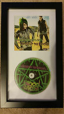 BLOOD ON THE DANCE FLOOR Anthem of the Outcast SIGNED FRAMED CD DISPLAY #B