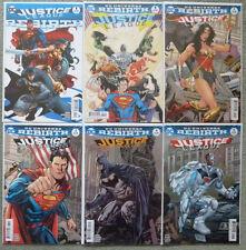 "JUSTICE LEAGUE ""REBIRTH"" #1 + #1-5 VARIANT SET..DC 2016 1ST PRINT..NM..BATMAN"