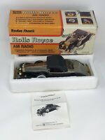 VTG OLD 1931 Rolls Royce Phantom II Model Car Radio Shack AM Radio