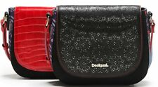DESIGUAL Bolso Bandolera Solapa Intercambiable Cracovia - Bag - Sac - New.