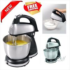Professional Stand Mixer Stainless Steel Kitchen Bakery Cake Bread Dough Cookie