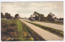 Wray Common old Bus,Reigate,Surrey,postal used 1924 Colour Postcard