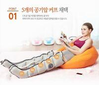 K-Beauty Seven Liner ZAM-03 Air Compression Pressure Leg Massager FDA Free Volt