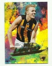 2017 Footy Stars HAWTHORN WILL LANGFORD Parallel Holo Foil HF86 CARD FREE POST