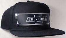 Hat Cap Front Nylon Strap Chevrolet Chevy Bowtie Black CHAE