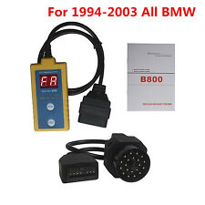 Car Airbag Scanner Reset Tool SRS Trouble Codes Reader 20Pin For 1994-2003 BMW