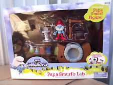 Smurfs Movie Magic Moments Figure Gift Packs/Papa Smurf's Lab-New & Sealed